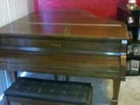 I have a Kimball full size Grand Piano that was