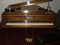 "5'9"" Kimball Grand piano, Classic Medallion Series,"