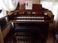 Kimball Organ, built in Leslie, accompanyment, dual