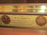 For Sale: W.W. Kimball Piano. This is a beautifully