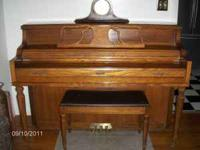 Kimball Piano For Sale. Excellent Condition Asking