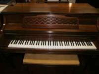 Kimball Console Piano in great condition! 1 owner,