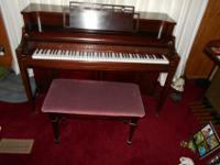 This is a fine Kimball piano that is in excellent