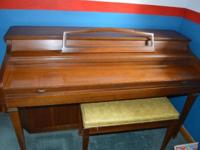 Kimball Spinet Piano bought new in 1973. Excellent