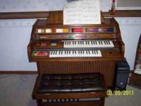We have a Kimball Broadway Organ in great shape and