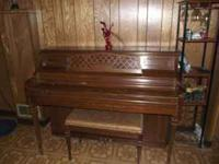 Kimball Piano Artist Console Serial Nnumber A65627 with
