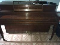 I have a Kimball piano free. It will need to be tuned,