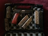 Kimber 45 auto, Combat Pro Carry ultra 2. Have original