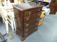 kinkaid, solid wood furniture. high chest $135.00