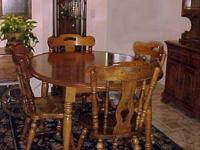 Kincaid Dining Suite  With Serving Cart   This is a
