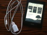 Kindle Paperwhite barely been used. $100 OBO Comes with