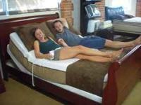 "Below is a pic of a fully adjustable KING Size ""BRAND"