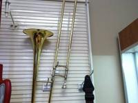 For sale is a King Alto Trombone in a case.  It's in