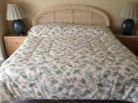 Nice King Size Bed (with mattress, headboard, box