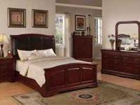 All New!!! 7 piece King or Cal King Bedroom set. Plus