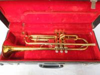 King 'Cleveland' 600 Trumpet. Has actually been