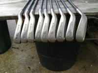 Senior King Cobra golf clubs 3-9 with pw and sand wedge
