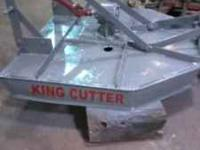 4 foot cut king cutter good condition, ready to use