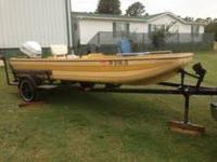 I am selling a great clean 79 Model Kingfisher boat