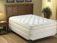 Spring Air's luxurious king size mattress set features