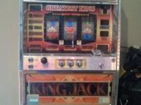 Selling my King Jack Slot Machine. This slot machine is