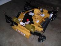 New King Kutter 4' finishing mower. $1000.00 OBO. Phone