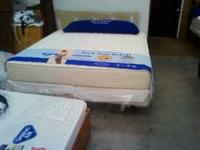 Plush, king mattress set on sale now for only $369.