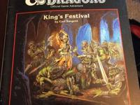 King's Festival - B11 - Dungeons & Dragons Module -