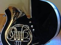 I'm selling my King Single French Horn, Model 618 in F.