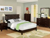 CHELSIE BEDROOM GROUP * Quality construction * Comes in