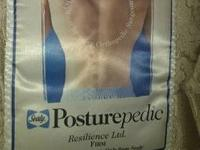 King size posturepedic bed mattress. it is in