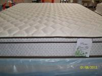 King Size Pillow Top Mattress and Boxes, all NEW, only