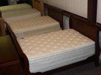 A brand new King size pillowtop mattress set. New still