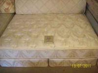 bed is in excellent condtion no stains, or rips or
