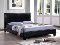 Skyline Platform Bed Covered in a durable black