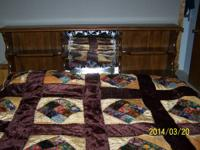 selling a california -king hardside full wave waterbed,