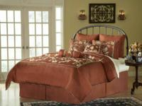 King-sized comforter set--includes comforter, 3 Euro
