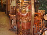 Make offer, We trade!!!! Lifesize King Tut Gold Leaf