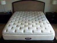 This is a king size Simmons Beautyrest Exceptionale
