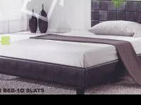 King Size Platform Bed with Mattress; A great value at