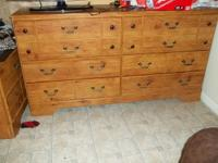 THIS IS ANICE BEDROOM SET IT IS IN GREAT CONDITION, IT