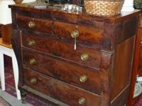 This Empire Dresser includes two distinctive looming