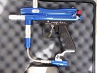 For sale is a Spyder Xtra Paintball Gun updated with a