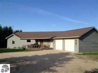 Spacious Ranch On A Ridge Overlooking 30 Acres. Vaulted