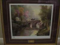 Thomas Kinkade. Limited Edition Lithograph with