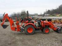 CK20 Kioti Tractor 3 Cylinder Diesel 22hp 4WD KL120