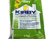 For all your Kirby needs. Kirby vacuum universal bags