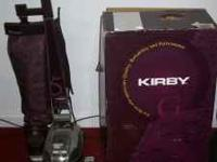 A very nice Kirby G5 sweeper with attachments $275 or