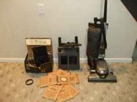 Barely used Kirby G6 vacuum & shampoo system; valued at