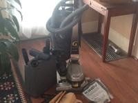 Hep-pa Vacuum with Carpet Shampooer. Shampooer never